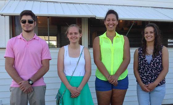 Tri Kappa Scholarship winners