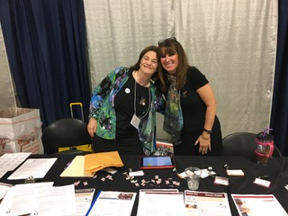 Diane O'Brien & Kim Hensley at the Province XI PCOT