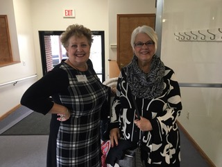Lisa Turner and Dianna Simkins at Province PCOT