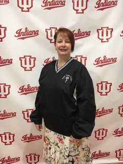 Heather Nacke showing her Hoosier Pride