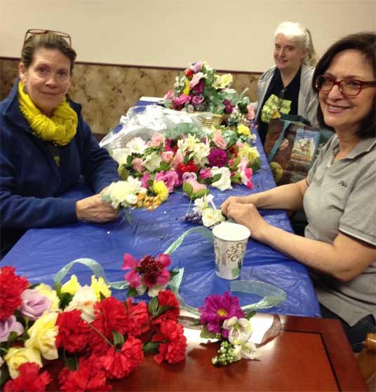 Paoli Nursing Home Province I corsages