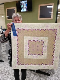 Province IV PCOT Fine Arts Quilting winner.