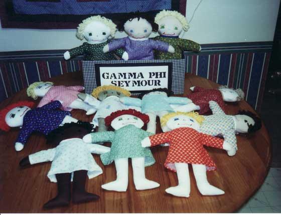 Seymour Gamma Phi dolls