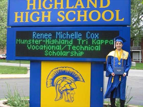Munster-Highland Scholarship Cox
