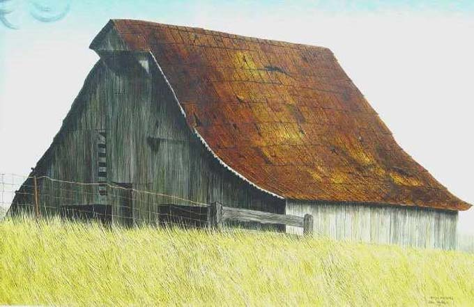 Tri Kappa Fine Arts Collection - Barn at Fairbanks