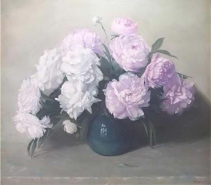 Tri Kappa Fine Arts Collection - The Peonies