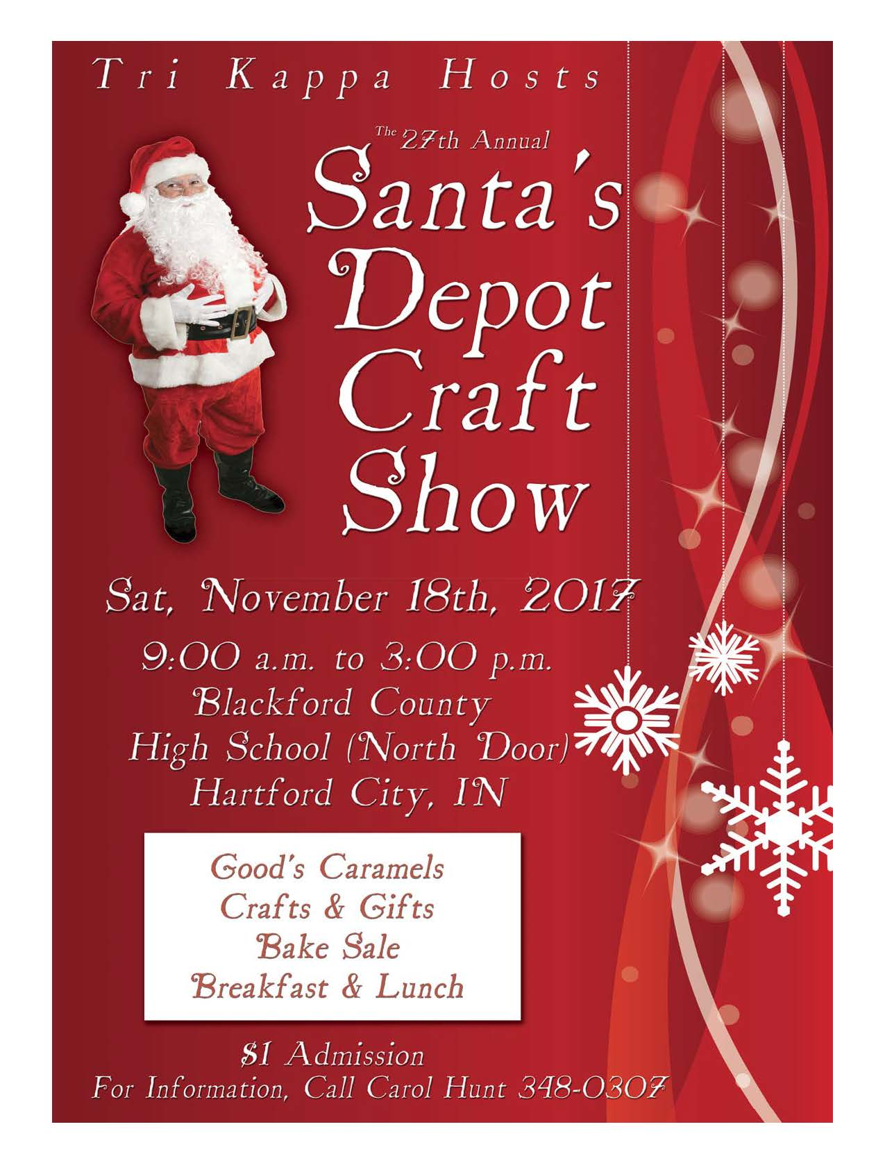 Hartford Citys 27th Annual Santas Depot Craft Show Kappa Kappa