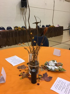 The centerpieces from Province II PCOT.