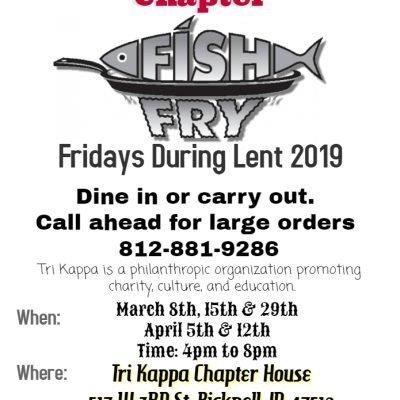 Bicknell Tri Kappa Fish Fry