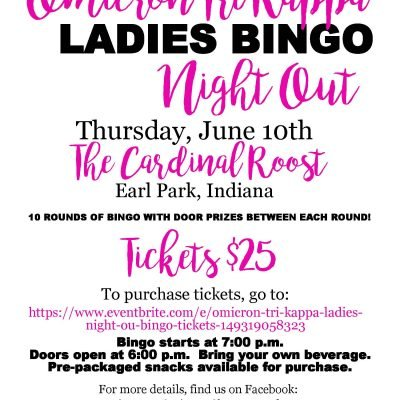 Fowler Omicron Ladies Bingo Night Out
