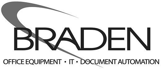 Braden Office Equipment Logo